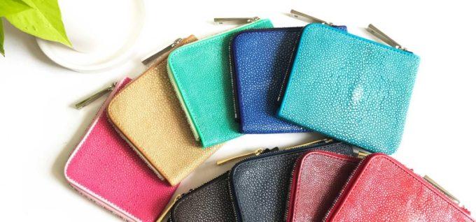 エイ革の財布
