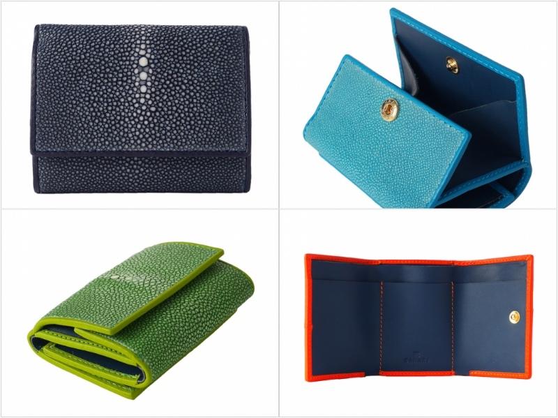 三つ折り財布ミニ財布の各部