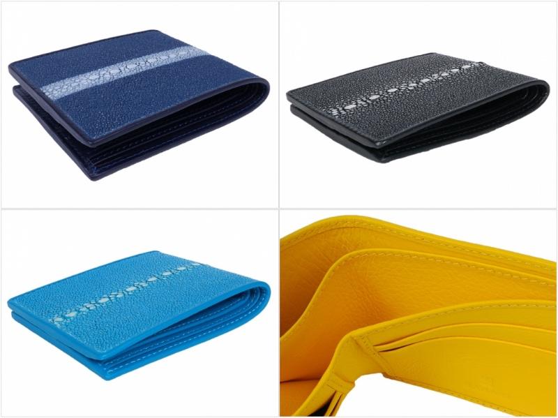 財布ショート(連石)の各部