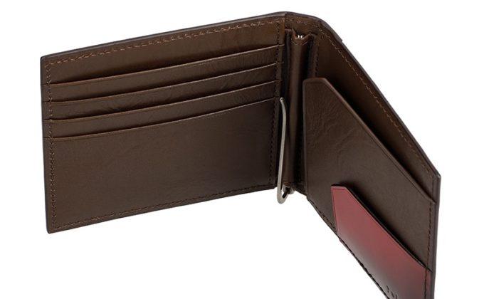 YFC201マネークリップのカードポケットと札クリップ