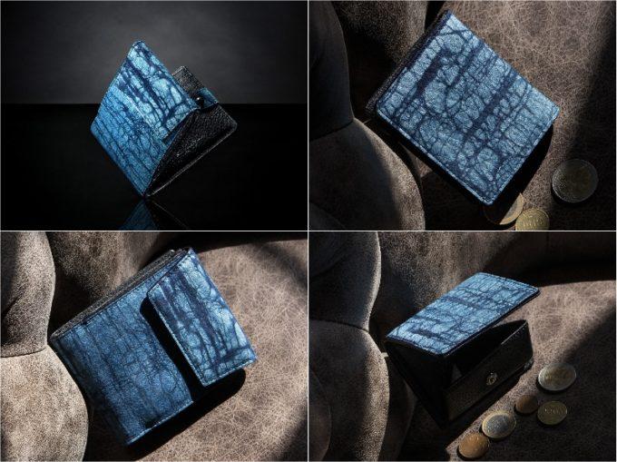 ジュンヤワラシナ・スクモロウ割れ革財布シリーズの各種財布