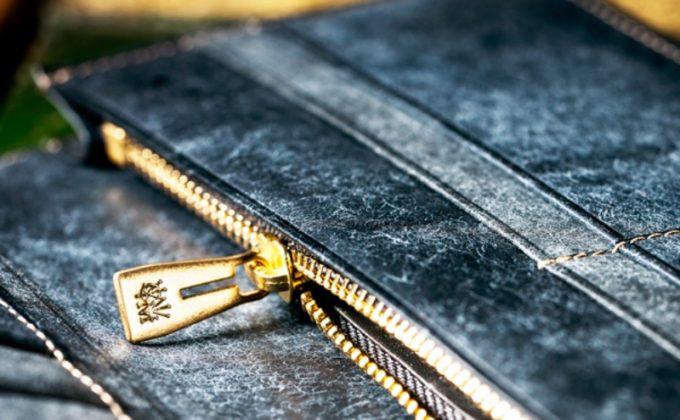 ゴールドマイニング・ベルトコンベアの小銭入れオリジナルゴールド金具