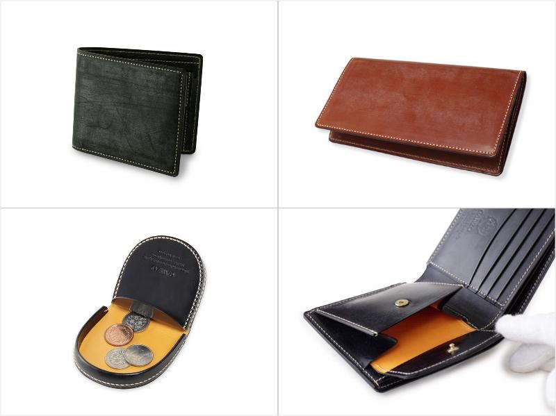 BRAIDLE CASUAL(ブライドルカジュアル)シリーズの各財布(抜粋)