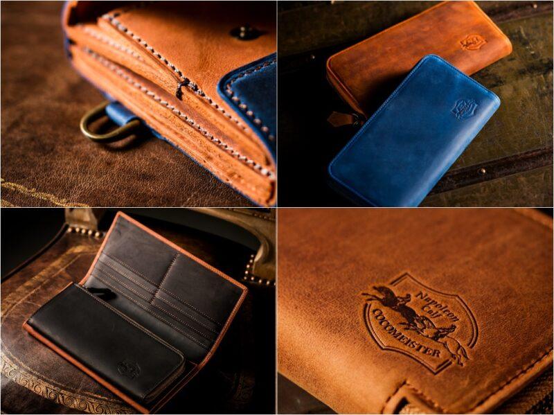 ココマイスター・ナポレオンカーフシリーズの各種財布