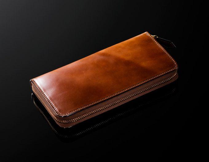 馬革(コードバン)の財布