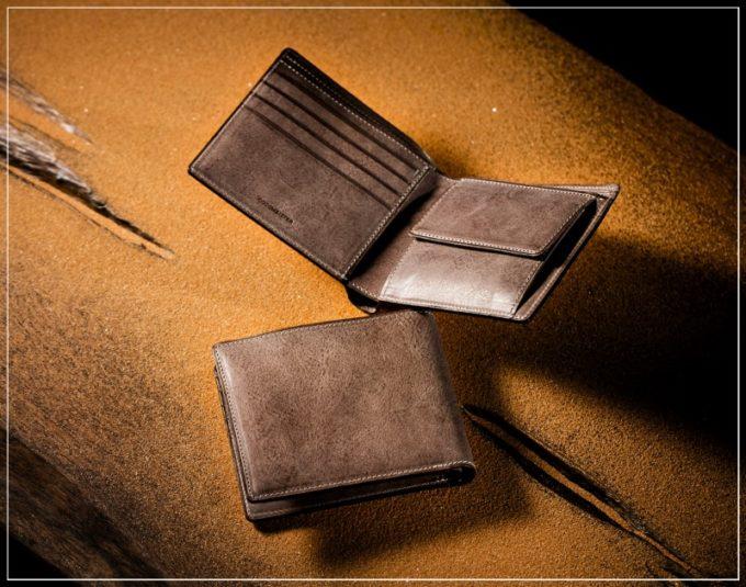 カルドミラージュ・二つ折り財布