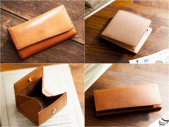 ココマイスター・パティーナシリーズの各種財布