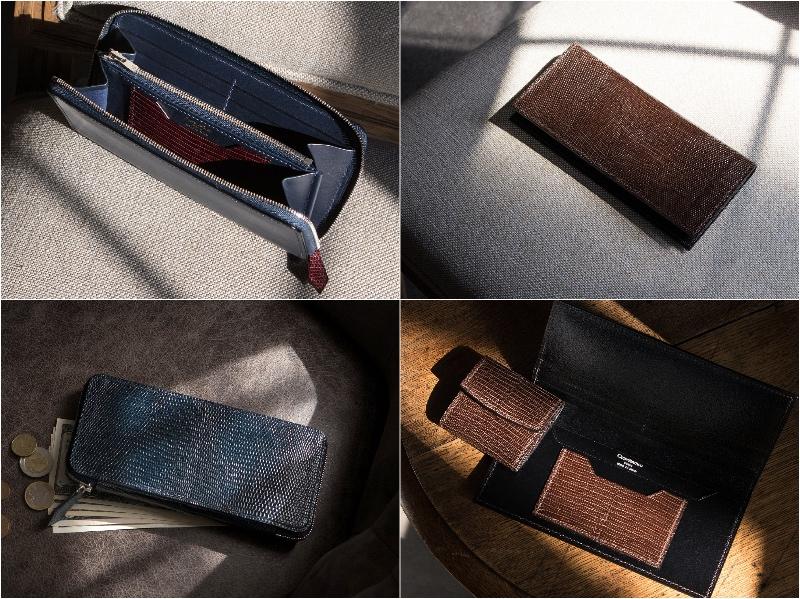 クレバレスコ・リザードシリーズorブリランテ×リザードシリーズの各種財布