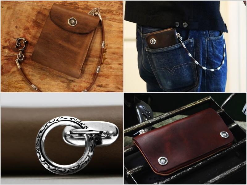 LEATHERS&THINGS MOTOR・クロムエクセルレザーシリーズの各種財布
