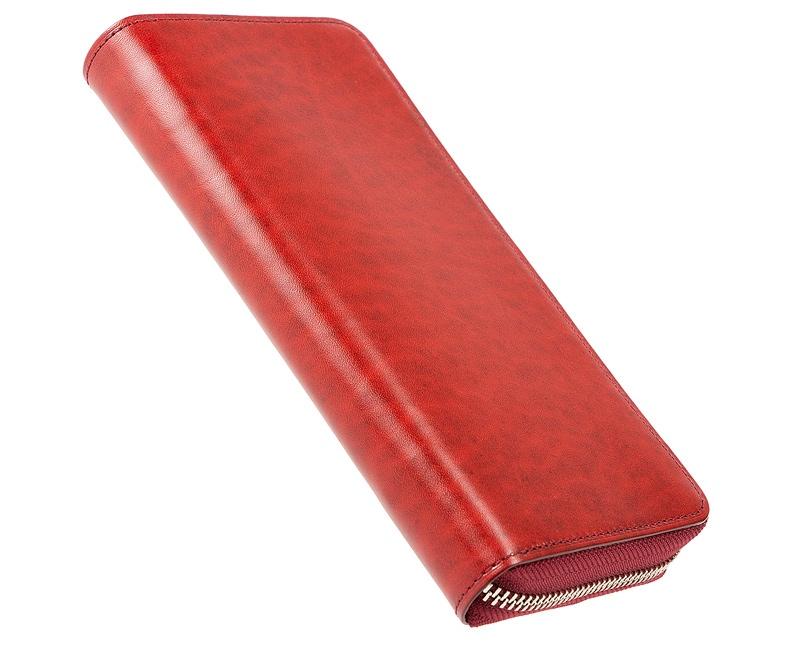 キプリス・ルーガショルダー&フルベジタブルタンニンシリーズの財布
