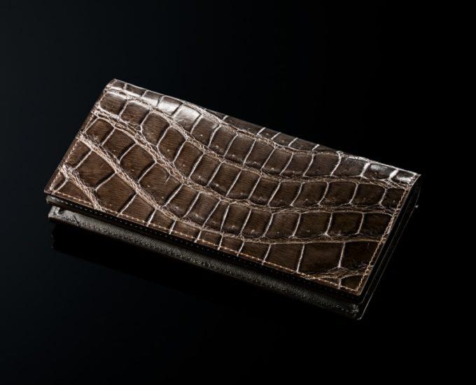 クロコダイルレザーの財布