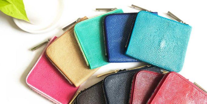 エイ革(ガルーシャ・スティングレイ)の財布