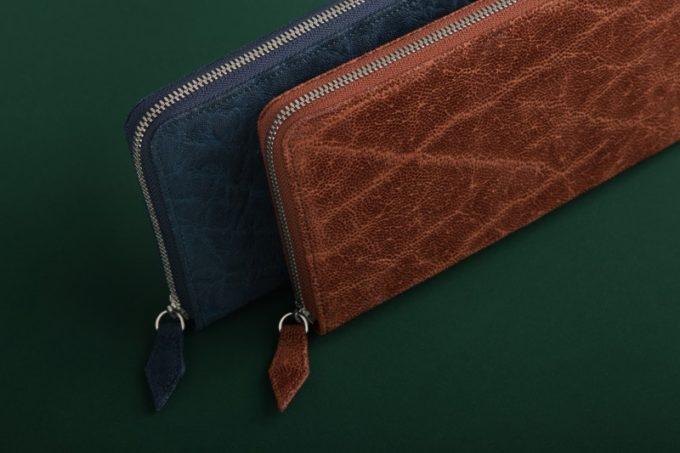 象革(エレファントレザー)の財布