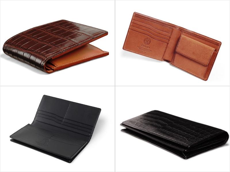 SMALL CROCO(スモールクロコ)シリーズの各財布(抜粋)