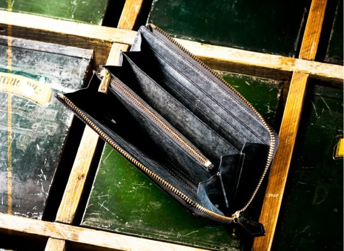 ゴールドマイニング・マグネティックドラム(L字ファスナー長財布)