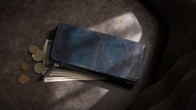 オススメのリザードの革財布