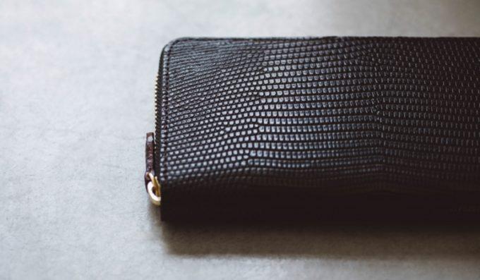 ガンゾ・リザード6シリーズのラウンドファスナー長財布