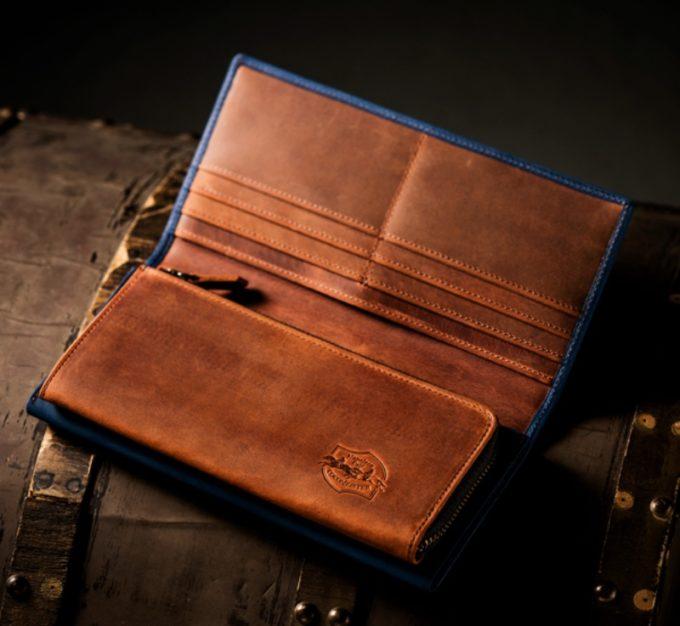ココマイスター・ナポレオンカーフシリーズの長財布