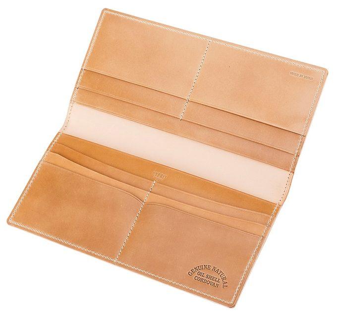 キプリス・ナチュラルコードバンシリーズの長財布