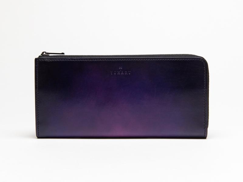yuhaku・ベラトゥーラ(Veratula)シリーズの財布(ディープパープル・パープル)