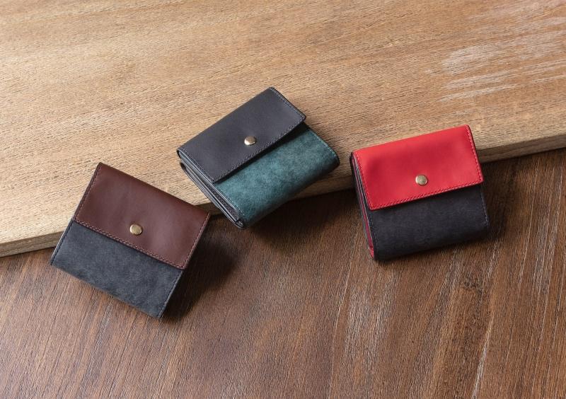 プエブロ&リスシオミニ財布(ニブール)