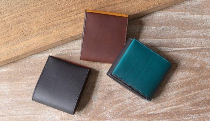 リスシオショート財布の各カラー