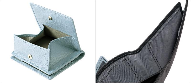 ポケウォレシリーズコンパクト札入れの小銭入れと札入れポケット