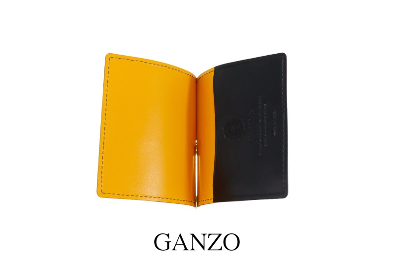 GANZO・シェルコードバン2マネークリップ