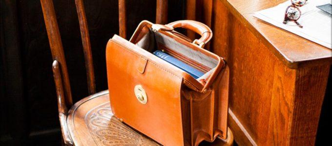 クラシカル感があり格好良いココマイスターのバッグ