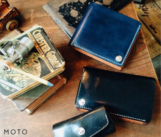 MOTO(モト)の革財布
