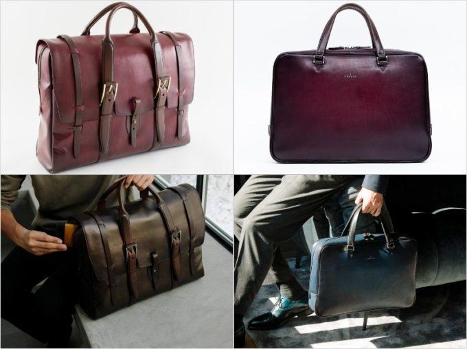 Limited(限定品)のブリーフケースとボストンバッグ