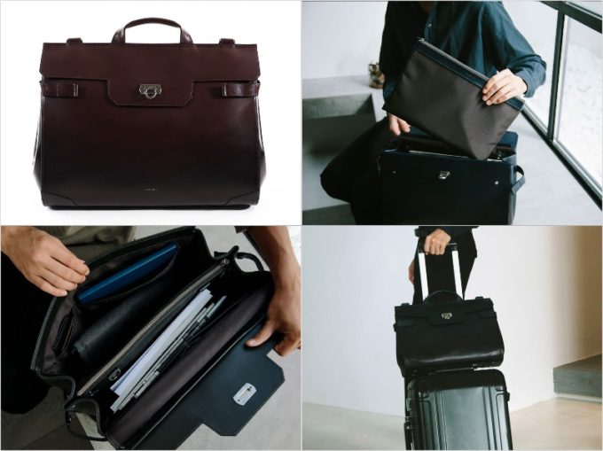 Radice(ラディーチェ)のバッグの外装と内装収納ポケット