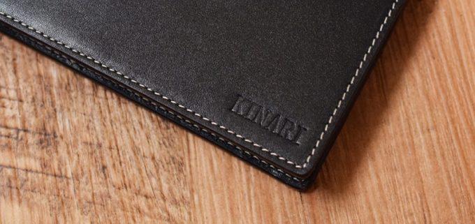 アルファベットで名前を入れた長財布