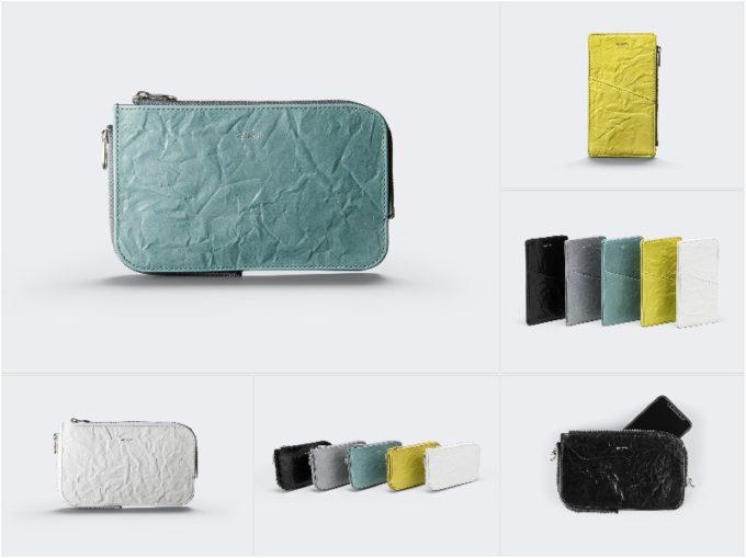 シワが特徴のルーガレザーシリーズの財布