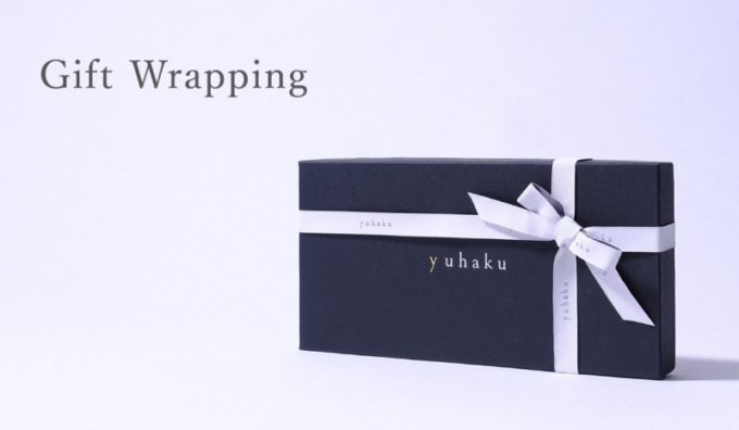 yuhaku・オリジナルラッピング