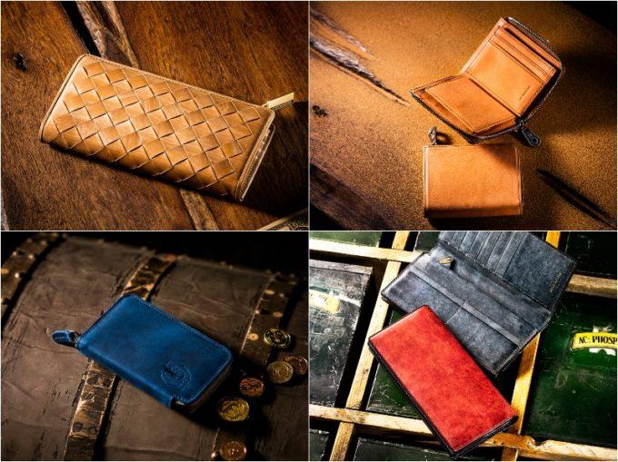 ココマイスターの財布各種