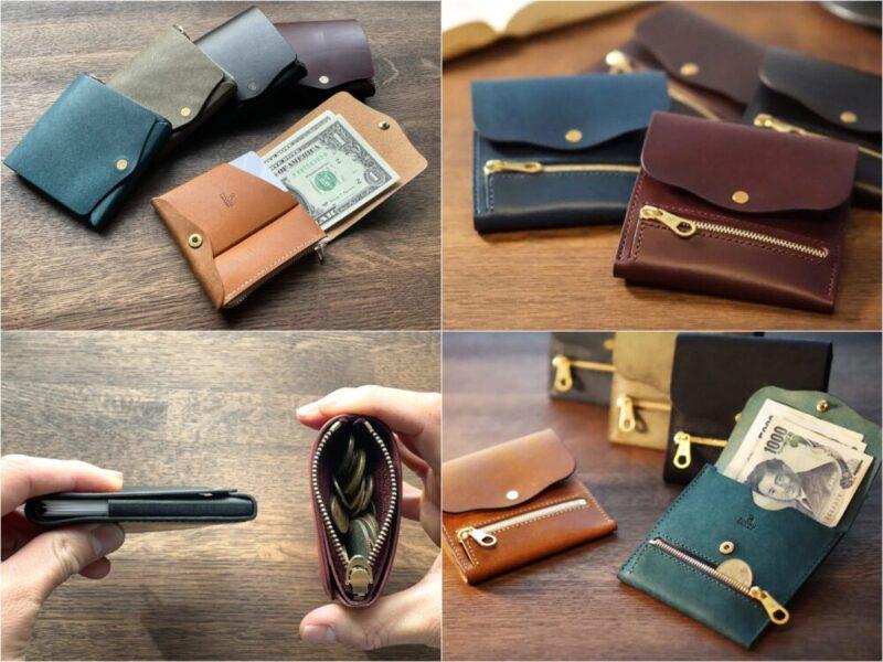 moku・ユニセックスなコンパクト財布各種
