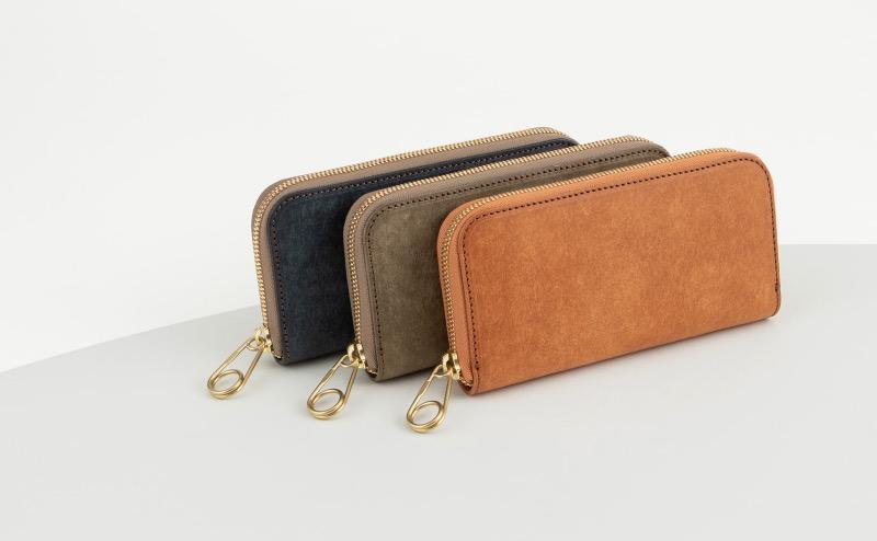 メンズレザーストアのColorOrder出来る財布