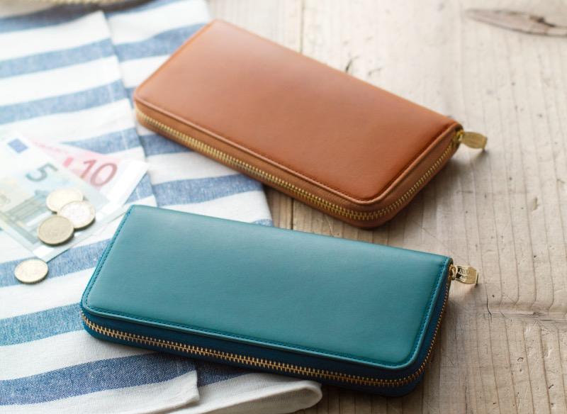 アヤメアンティーコのユニセックスな長財布