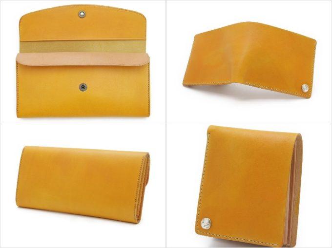 D(手染め)シリーズの財布各種