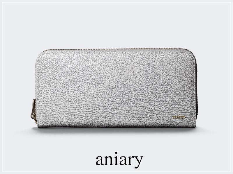 aniary(アニアリ)のラウンド長財布