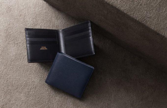 FESON・キップ水シボ二つ折り財布