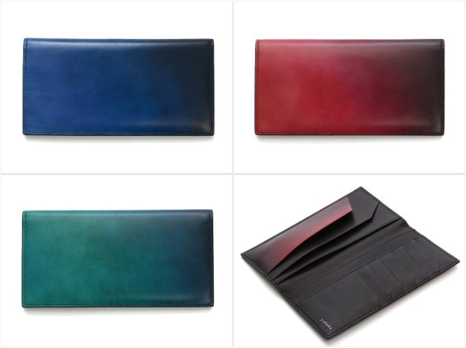 yuhaku・YFF111束入れの全カラーバリエーションと内装ポケット