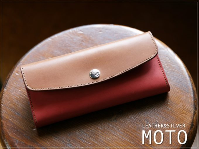 MOTO(モト)のカブセ蓋長財布