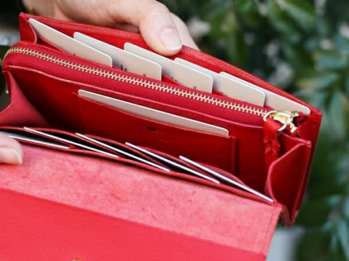 ミネルバボックスシリーズのカブセ蓋長財布