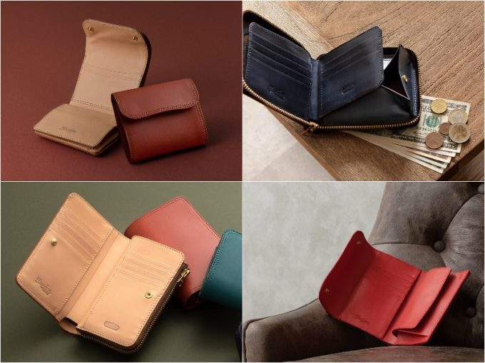Tsurane(ツラネ)の女性でも使える財布各種