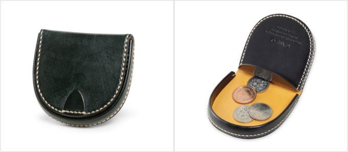 BRIDLE CASUAL(ブライドルカジュアル)馬蹄型小銭入れの各部
