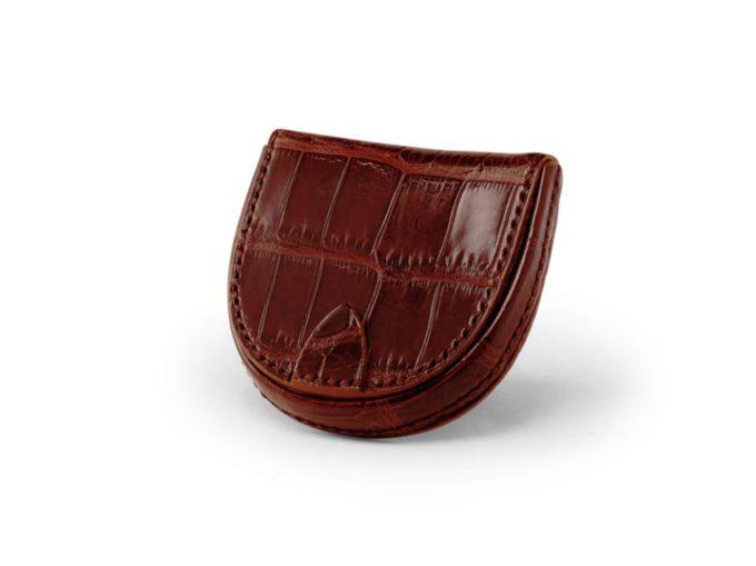 SMALL CROCO(スモールクロコ)の馬蹄型小銭入れ