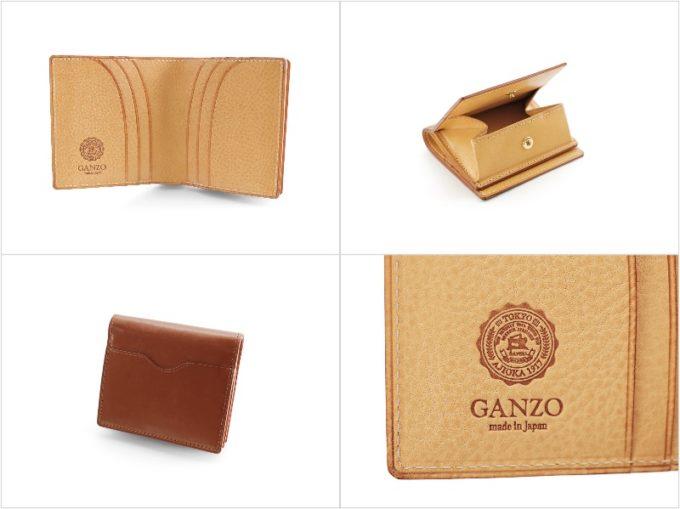 THIN BRIDLE(シンブライドル)BOX小銭入れ付きコンパクト札入れの各部写真
