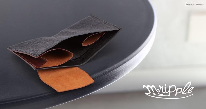 マレンマorブッテーロ&ミネルバボックス二つ折り財布
